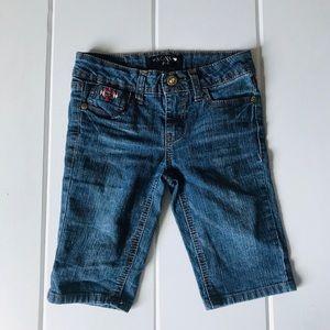 Xoxo Girl's Bermuda Jean Shorts